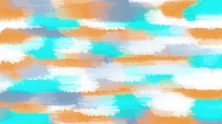 白の背景にオレンジと青の絵画抽象