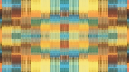 orange blue and brown plaid pattern abstract background