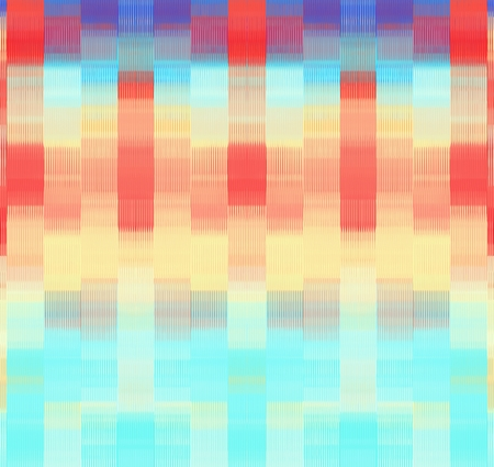 red blue and orange plaid pattern abstract background