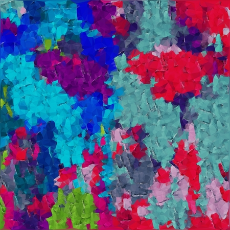 blue green red and pink polygon pattern abstract background