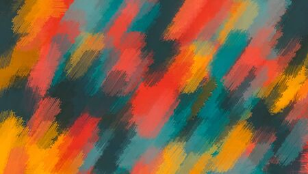 green orange and red painting texture abstract background