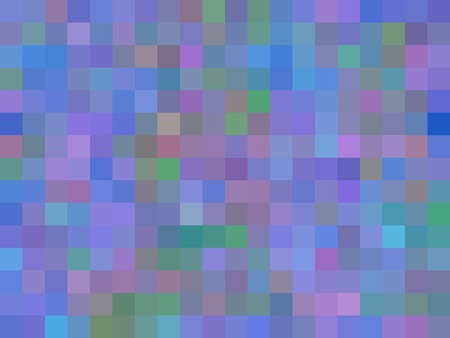 geometric square pixel pattern abstract in purple blue pink