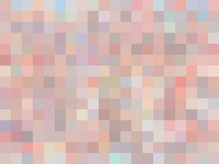 geometric square pixel pattern abstract in pink and blue Stockfoto