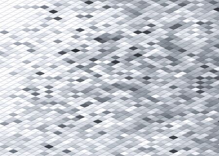 geometric square pattern abstract background in black and white Zdjęcie Seryjne