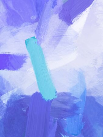 brush painting texture abstract background in blue Zdjęcie Seryjne