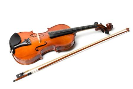 violin isolate photo