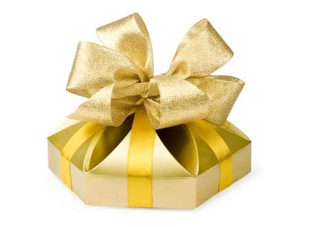 Gold box Фото со стока