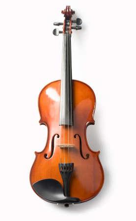 violin isolate Stock Photo - 19410954