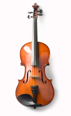 violas: violin isolate