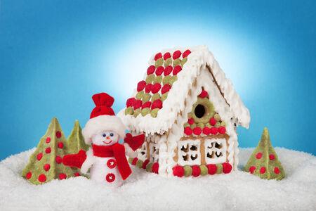 gingerbread house Фото со стока