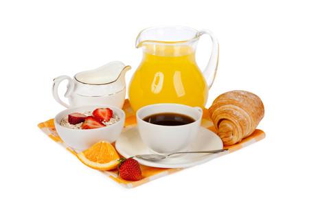 Breakfast isolated