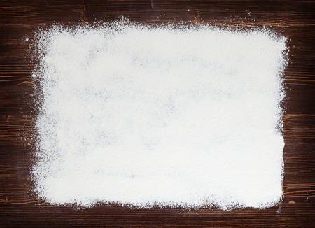Farina astratto spruzzato sulla vecchia scheda Archivio Fotografico - 41603852