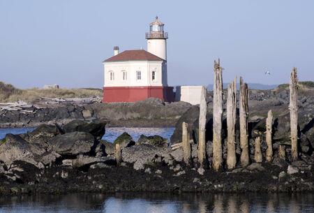 Bandon Lighthouse Oregon Stock fotó - 26875257
