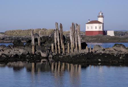 Bandon Lighthouse Oregon Stock fotó - 26875259