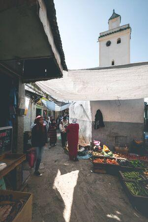 Local Bazaar in the Streets of Rabat - Morocco Reklamní fotografie
