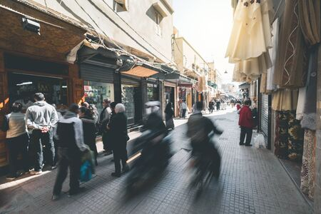 Shopping in the Streets of Rabat - Morocco
