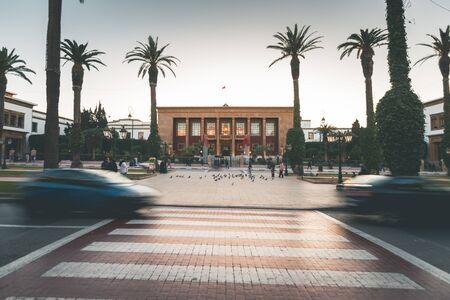Evening Light in the Streets of Rabat - Morocco Reklamní fotografie