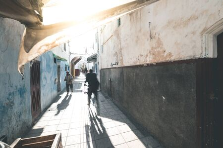 Idyllic Streets of Rabat - Morocco Reklamní fotografie