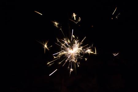 sparks: sparkler sparks