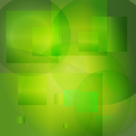 Green abstract light background. Vector illustration - Stock Illustration