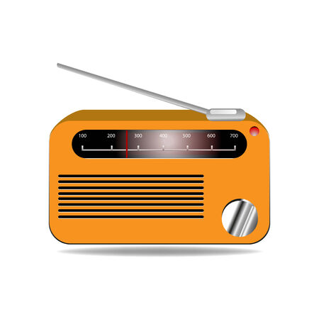 radio vector illustration Illustration