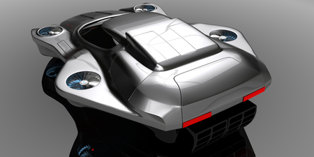 Concept air machines Car Technology Stock Photo