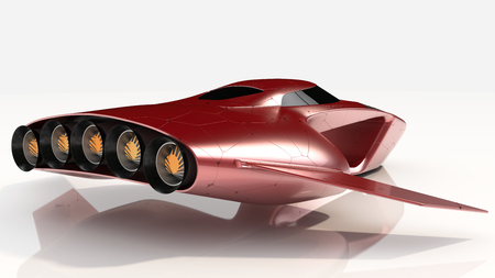 Concept Hover Car Pro Technology future 写真素材