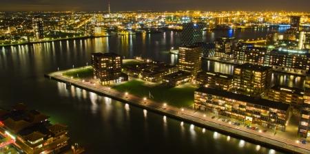 euromast: Urban Rotterdam Stock Photo