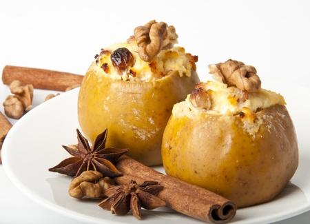 cottage cheese: Stuzzicanti le mele al forno con ricotta