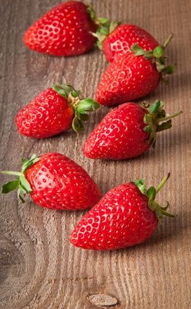 Appetizing strawberry photo