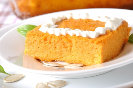 pumpkin pudding photo