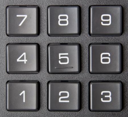 numeric: numeric keypad