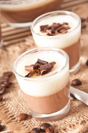 Chocolate Panna Cotta photo