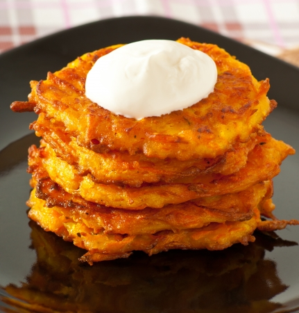 Roasted pumpkin pancakes pumpkin