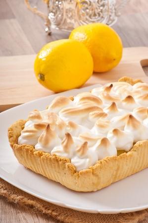 American lemon cake photo