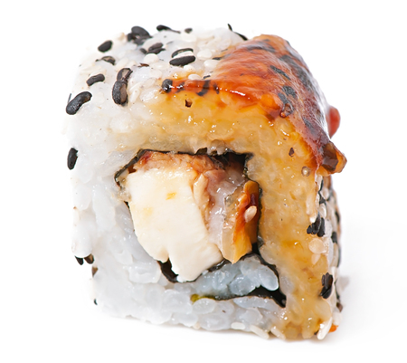 roll with eel and cheese photo