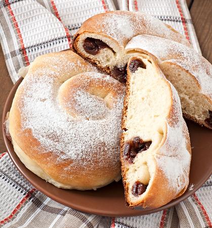 buns: Spanish buns \\\Ensaimadas\\\ Foto de archivo