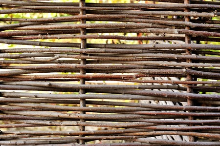 poling: wooden fence texture