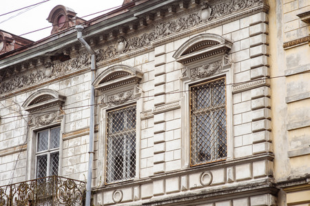 lvov: Celtic architecture building in Lvov