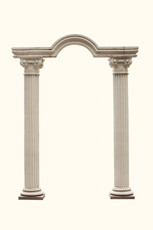 arch: Columns and Arch isolated.