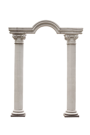 Columns and Arch isolated.