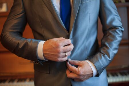 smocking: Businessman dress jacket