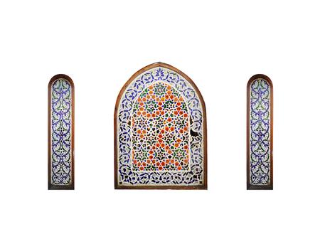 el sheikh: Arab window on a white , Sharm El Sheikh, Egypt.