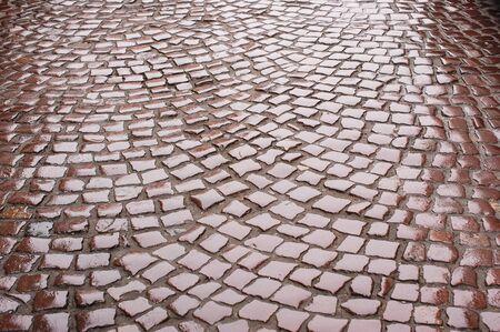 road paving: fondo de pavimentaci�n de carreteras mojadas.
