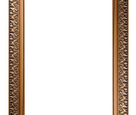 large gold picture frames gold frame isolated on white background