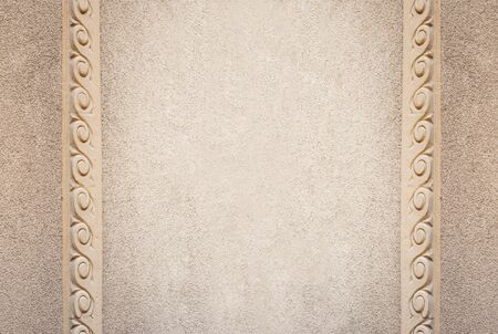 frame on wall: Beautiful architectural frame, wall texture.