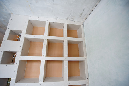 plasterboard: plasterboard construction housing repair, partition.