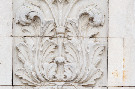 white backing: Classical Architecture Column and Frieze ornament.