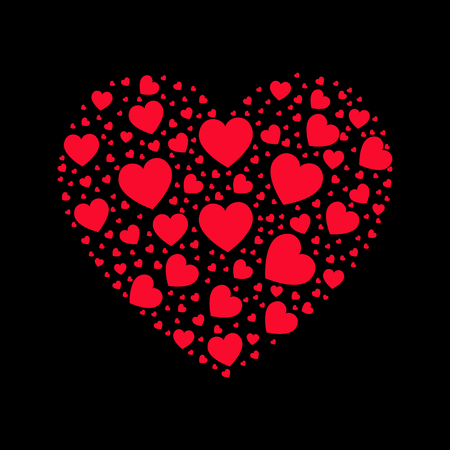 feminine background: Valentines Day vector abstract background.  Vector silhouettes. Love background. Romance and feminine background. Texture. Wallpaper. Greetings card. Illustration