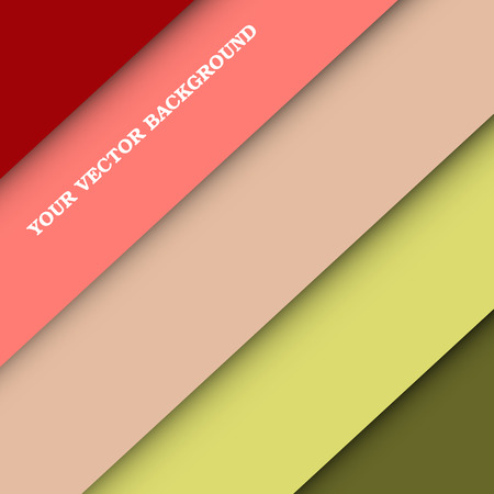 mobile website: Material design wallpaper. Vector background. Flat background. Background for website, mobile phone and devices. Bright background.  Colorful paper.
